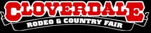 Cloverdale rodeo logo